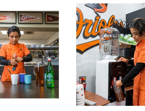 Mountain Valley Spring Water Chef Jenny Perez & The Baltimore Orioles