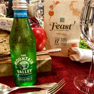 Mountain Valley Spring Water at FEAST by FRESHFARMS