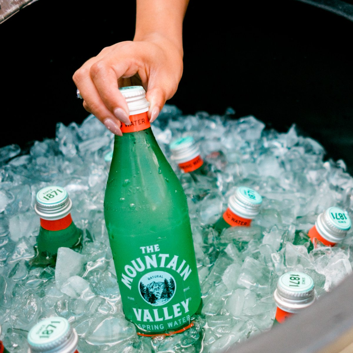 Mountain Valley Spring Water at Feast by FreshFarms Mid-Atlantic